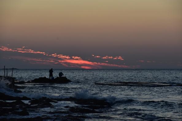 דייגים, שקיעה באכזיב, עינבל ויסמן