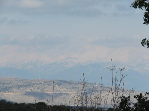 החרמון מתצפית הר מירון